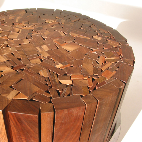 Organicawards Stoolen Recycled Wood Stool